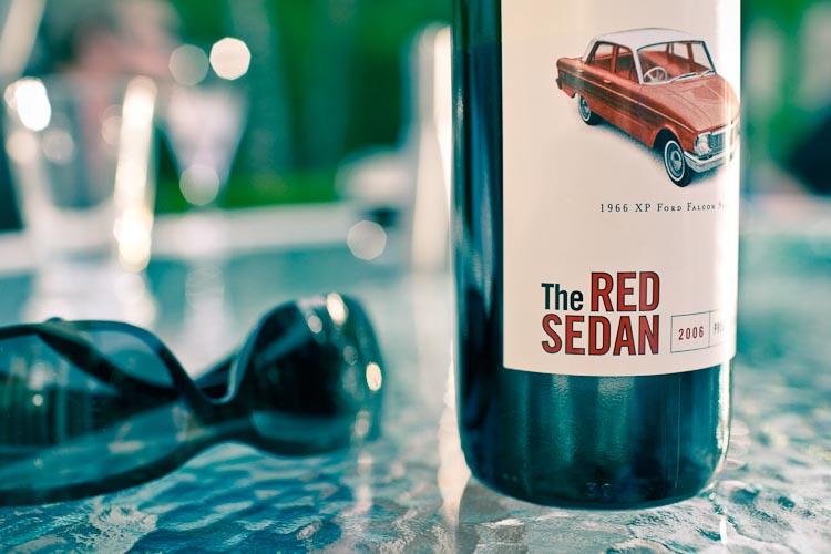 the red sedan 2006